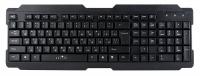 Клавиатура Oklick 192M, черная, USB