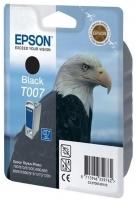 Картридж оригинальный (в технологической упаковке) черный Epson T007 black, ресурс 540 стр.