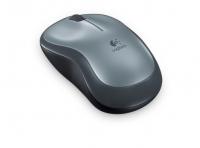 Оптическая беспроводная мышь Logitech Wireless Mouse M185 Grey-Black USB