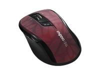Оптическая беспроводная мышь Rapoo 7100P (красный)