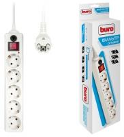 Сетевой фильтр Buro 500SH-5-W  (5 розеток) белый
