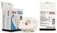 Сетевой фильтр Buro 100SH-Plus-W  (1 розетка) белый