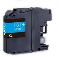 Картридж оригинальный (в технологической упаковке) Brother LC-525XL-C, ресурс 1300 стр.