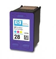 Картридж оригинальный (в технологической упаковке) HP C8728A  (№28) Color , ресурс 240 стр.