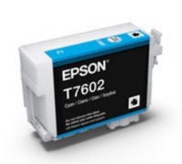 Картридж оригинальный (блистер) Epson T7602 SС P-600 Cyan