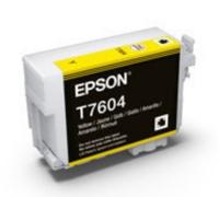 Картридж оригинальный (в технологической упаковке) Epson T7604 SС P-600 Yellow
