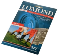 Lomond 1106202 (Satin Warm) Сатин -двусторонняя Атласная ,тепло-белая A6 270g/m, 500 лист.