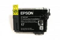 Картридж оригинальный (в технологической упаковке) Epson T1701 Bk