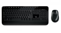 Комплект Microsoft Wireless Desktop 2000 Black USB беспроводные клавиатура и мышь
