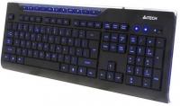Клавиатура A4Tech KD-800L Black USB, Multimedia slim