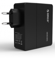 Зарядное устройство Orico DCA-4U (черный)