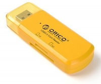 Картридер Orico CTU33 (желтый)