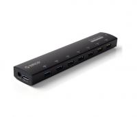 USB-концентратор Orico AS7C2 (черный)