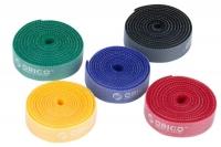 Стяжки для проводов Orico CBT-5S (комплект, 5шт)