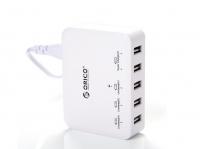 Зарядное устройство Orico DCAP-5S (белый)
