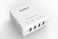 Зарядное устройство Orico DCE-4U (белый)