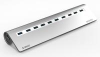USB-концентратор Orico M3H10-SV (серебристый)
