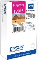 Картридж оригинальный пурпурный (magenta) Epson T7013 XXL / C13T701340, ресурс 3400 стр.