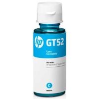 Картридж оригинальный HP GT52 (MOH54AE) Cyan (70мл), ресурс 8000 стр.