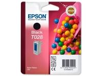 Картридж оригинальный (в технологической упаковке) черный Epson T028 black, ресурс 420 стр.