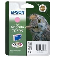 Картридж оригинальный (в технологической упаковке) светло-пурпурный (light magenta) Epson T0796 / C13T07964010
