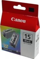 Картридж оригинальный черный Canon BCI-15 Black (2 шт.)