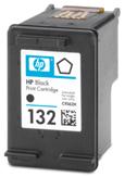 Картридж оригинальный (в технологической упаковке) HP C9362HE (№132) Black, ресурс 220 стр.