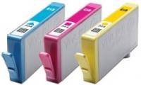 Набор оригинальный из 3 картриджей №178 + 85 листов глянцевой фотобумаги 250 г/м (в технологической упаковке), HP SD754HE (CH083HE)