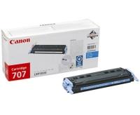 Картридж оригинальный голубой (cyan) Canon Cartridge 707, ресурс 2000 стр.