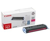 Картридж оригинальный пурпурный (magenta) Canon Cartridge 707, ресурс 2000 стр.