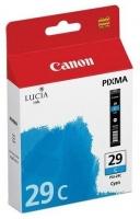 Картридж оригинальный голубой (cyan) Canon PGI-29C, емкость 36 мл.
