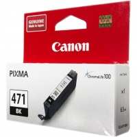 Картридж оригинальный Canon CLI-471 BK