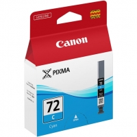 Картридж оригинальный голубой (cyan) Canon PGI-72C, 14 мл.
