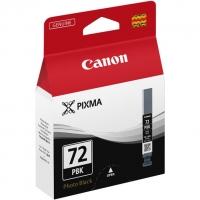 Картридж оригинальный фото-черный (photo black) Canon PGI-72PBK, 14 мл.