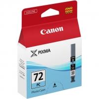 Картридж оригинальный фото-голубой (photo cyan) Canon PGI-72PC, 14 мл.