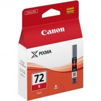 Картридж оригинальный красный (red) Canon PGI-72R, объем 14 мл.