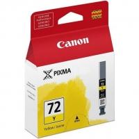 Картридж оригинальный желтый (yellow) Canon PGI-72Y, объем 14 мл.