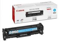 Картридж оригинальный голубой (cyan) Canon Cartridge 718С, ресурс 2900 стр.