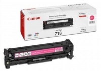 Картридж оригинальный пурпурный (magenta) Canon Cartridge 718M, ресурс 2800 стр.