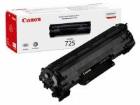Картридж оригинальный Canon Cartridge 725, ресурс 1600 стр.