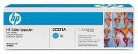 Картридж оригинальный голубой (cyan) HP CC531A, ресурс 2800 стр.