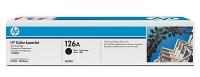 Картридж оригинальный черный (black) HP CE310A (126A / 126А), ресурс 1200 стр.