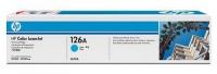 Картридж оригинальный голубой (cyan) HP CE311A (126A / 126А), ресурс 1000 стр.