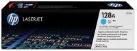 Картридж оригинальный голубой (cyan) HP CE321A (128A / 128А), ресурс 1300 стр.