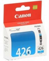 Картридж оригинальный голубой (cyan) Canon CLI-426C, ресурс 460 стр.