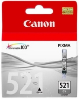 Картридж оригинальный серый (grey) Canon CLI-521GY, объем 9 мл.