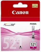 Картридж оригинальный пурпурный (magenta) Canon CLI-521M, объем 9 мл.