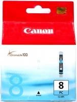 Картридж оригинальный фотографический голубой (photo cyan) Canon CLI-8PC, ресурс 490 стр.