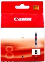 Картридж оригинальный красный (red) Canon CLI-8R, ресурс 490 стр.