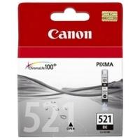 Картридж оригинальный черный (black) Canon CLI-521Bk, объем 9 мл.